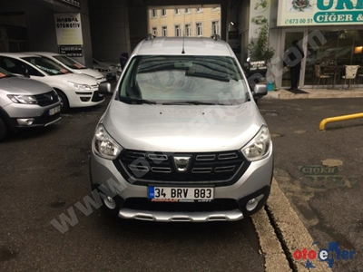 2017 MODEL DACIA DOKKER STEPWAY 1.5 DCI 90 Ps 27.000 Km
