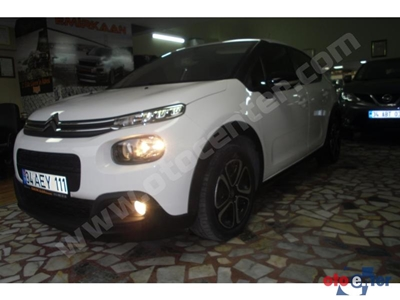 2017 MODEL CİTROEN 1.6 BlueHDİ FEEL PAKET 100000 KM DİSEL DÜZ VİTES