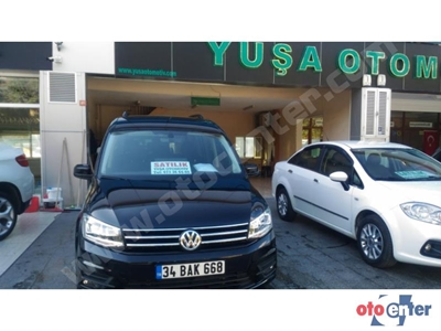 2018 MODEL CADDY 2.0 TDİ DSG EXCLUSİVE 10.000 KM DE