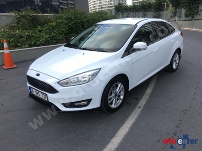 2017 MODEL FORD FOCUS 1.6 TDCİ TREND X 52.000 KM ORJİNAL